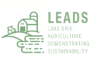 Lake Erie Agriculture Demonstrating Sustainability (LEADS) logo
